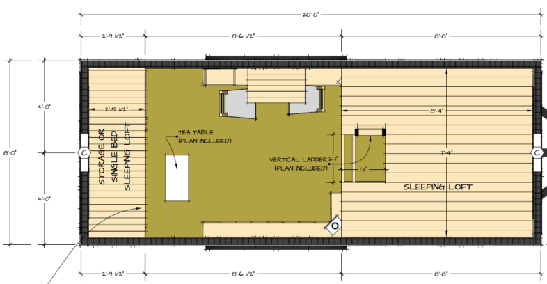 Tiny Home Designs: Moshata Tiny House